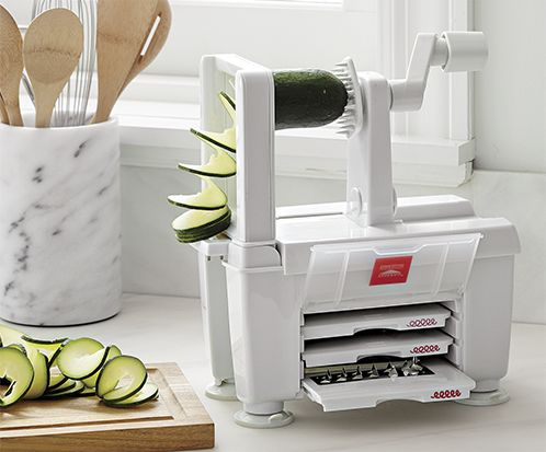 4-blade vegetable spiralizer