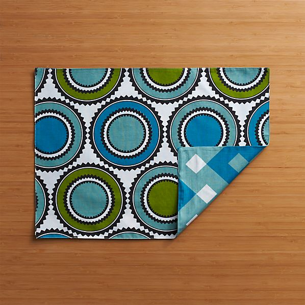 Palace Blue-Green Placemat