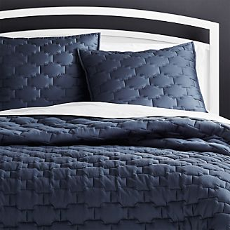 Palazzo Blue Quilts And Pillow Shams
