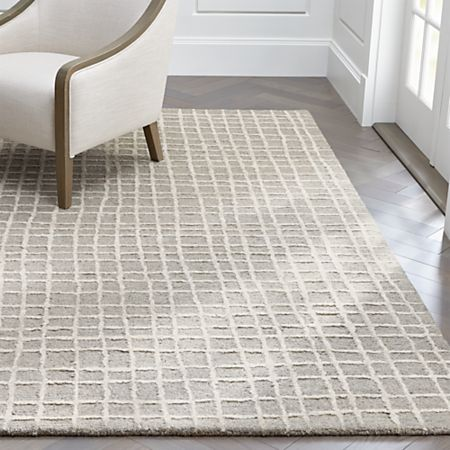 Palladio Grey Tufted Rug Crate And