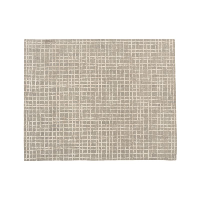 Palladio Grey Tufted Rug 8x10 Reviews Crate And Barrel