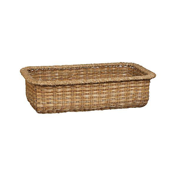 Palma Large Low Basket