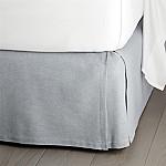 Paloma Blue 15  Full Bedskirt