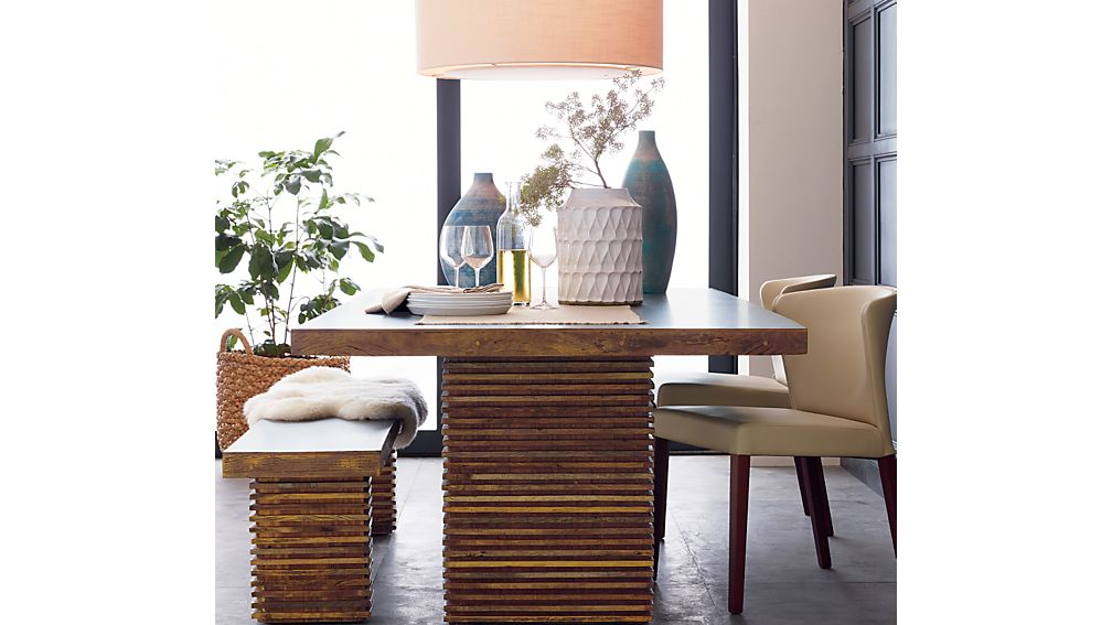 Paloma I Dining Table + Reviews | Crate and Barrel