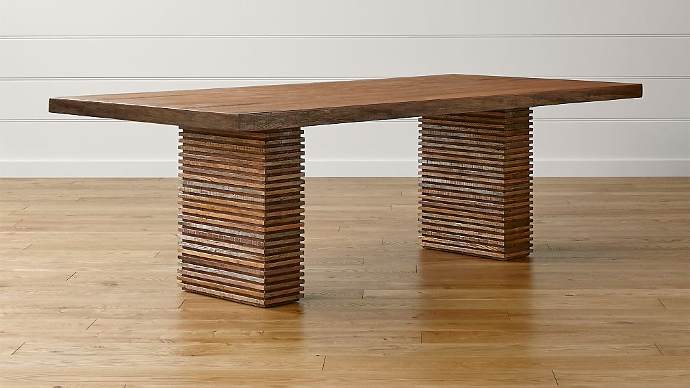 Paloma II Reclaimed Wood Dining Table - Image 1 of 12