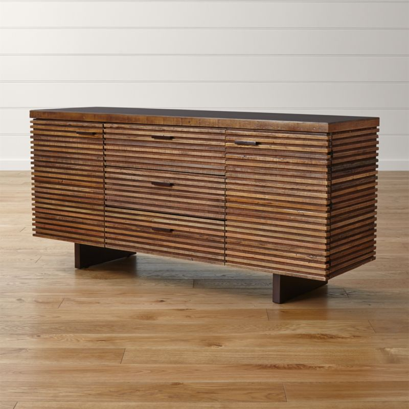 Paloma i large sideboard crate and barrel for Mail order furniture stores