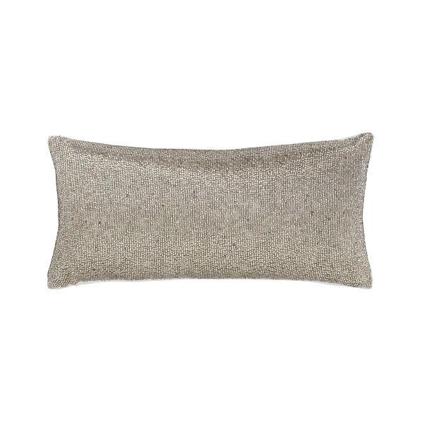 "Panache Platinum 16""x8"" Pillow"