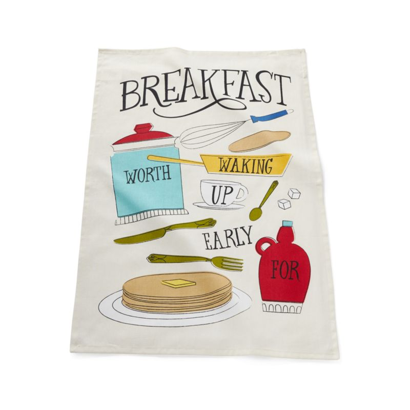 Pancake Breakfast Dish Towel