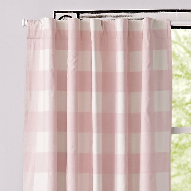 Pink Buffalo Check 63 Blackout Curtain Reviews