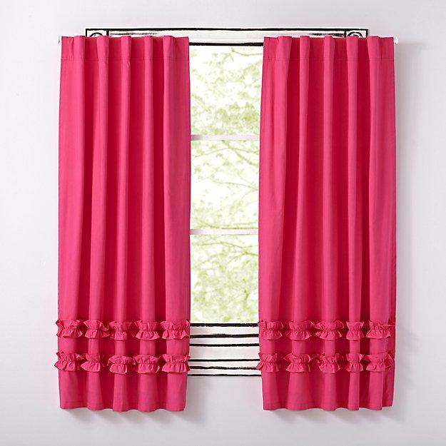 96 Pink Ruffle Curtain Reviews