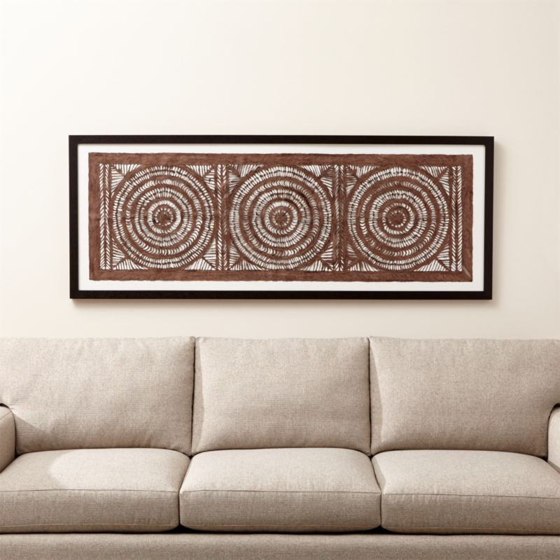 Framed Wall Pictures framed wall art | crate and barrel
