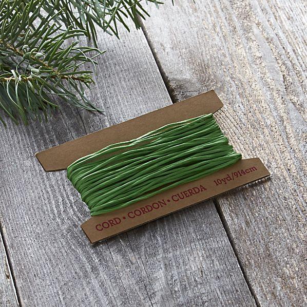 Green Paper Cord