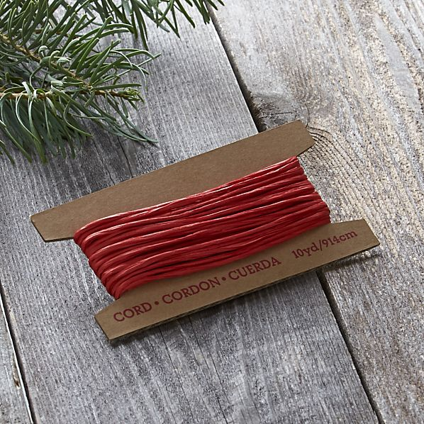 Red Paper Cord
