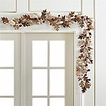 Paper Oak Leaf Garland