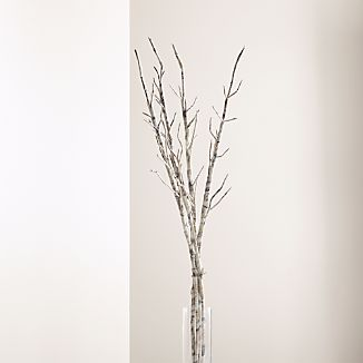 Paper Twig Branches, Set of 4