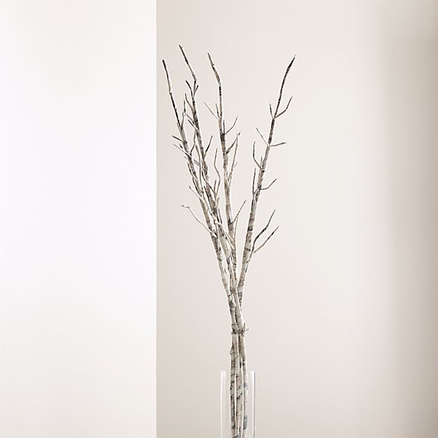 Paper Twig Branches, Set of 4 - Image 1 of 6