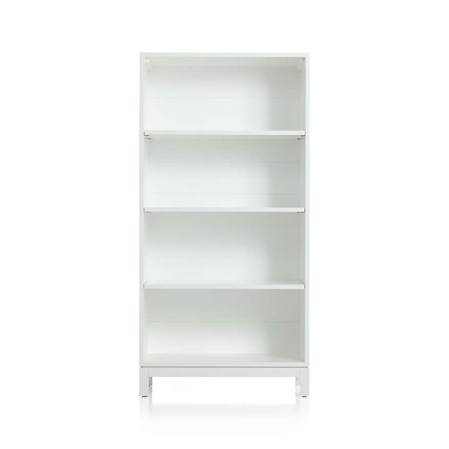 Parke White Bookcase Reviews Crate And Barrel Canada