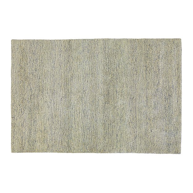 Parker Dove Grey 10x14 Wool Shag Rug Reviews Crate And Barrel