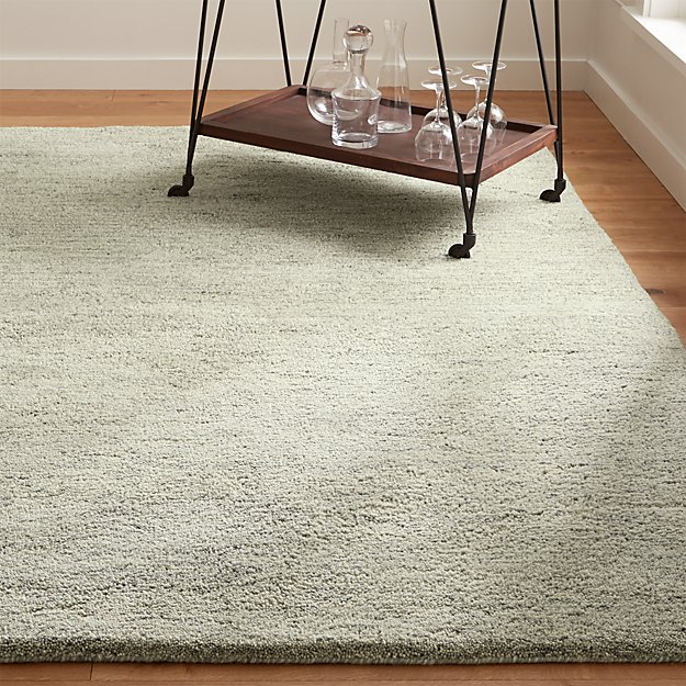 Parker Dove Grey Wool Rug