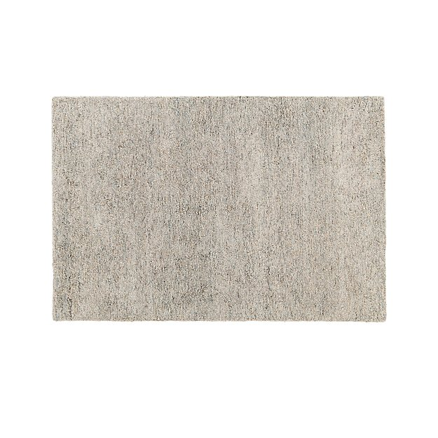Parker Neutral 8x10 Wool Shag Rug Crate And Barrel