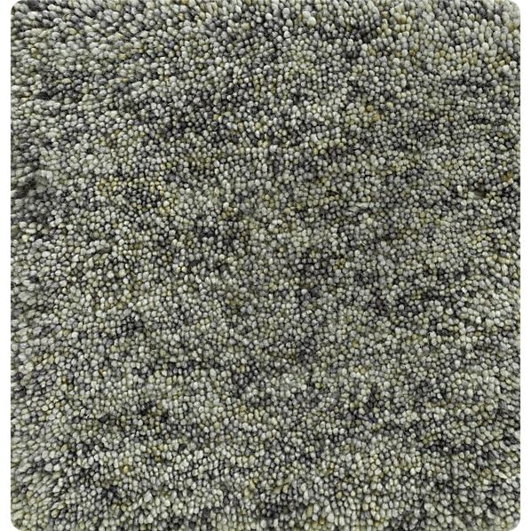 """Parker Charcoal 12"""" sq. Rug Swatch"""