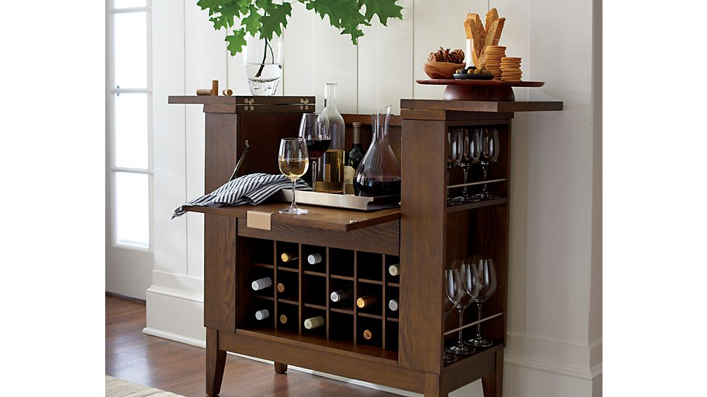 Parker Spirits Bourbon Cabinet In Bar Cabinets Bar Carts Reviews Crate And Barrel