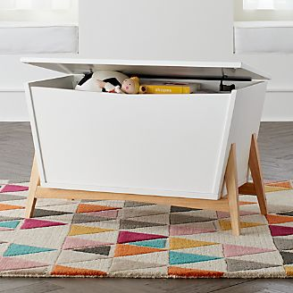 Make Cleanup Fun With Kids Toy Boxes Crate And Barrel