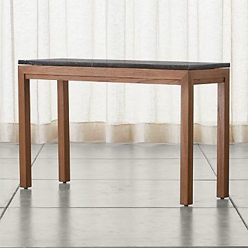 Fantastic Sofa And Console Tables Crate And Barrel Creativecarmelina Interior Chair Design Creativecarmelinacom