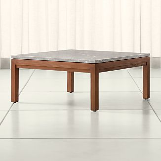 square coffee tables | crate and barrel