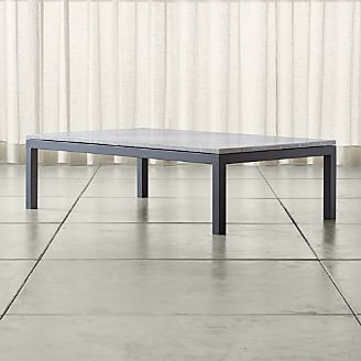 Coffee Tables Crate And Barrel - Grey marble top coffee table
