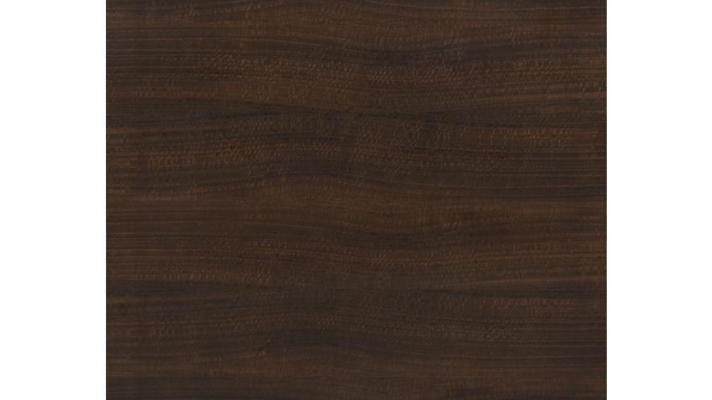 Parsons Myrtle Top/ Dark Steel Base 60x36 Dining Table