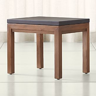 Parsons Pine Top/ Elm Base 20x24 End Table