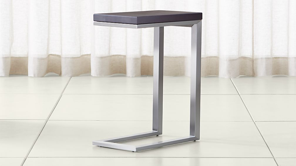 Parsons Pine Top/ Stainless Steel Base 20x12 C Table