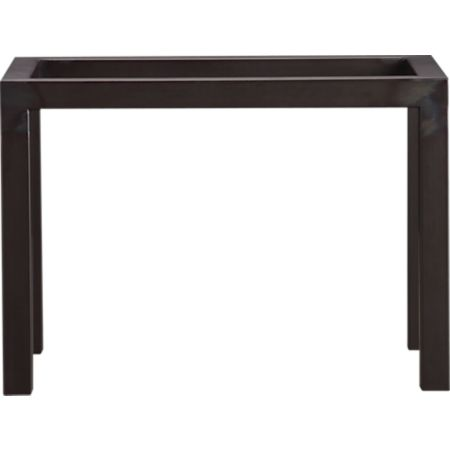 Sidetable Wit Met Glas.Parsons Side Table With Glass Top Reviews Crate And Barrel