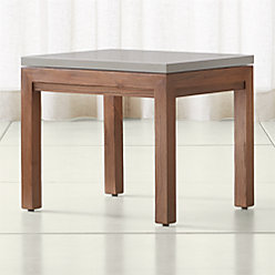 Parsons Grey Solid Surface Top Elm Base 60x36 Large