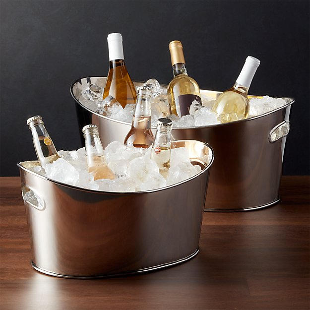Oval Party Beverage Tub - Image 1 of 7