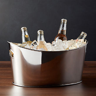 Small Oval Party Beverage Tub