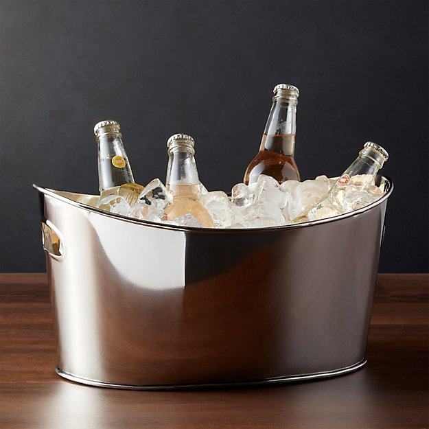 Small Oval Party Beverage Tub - Image 1 of 8