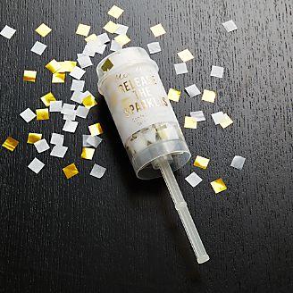 Party Gold Confetti Popper