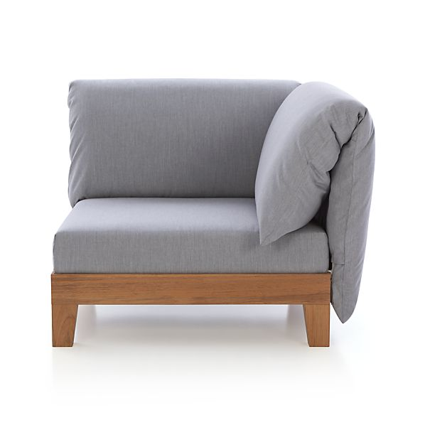 Party Right Arm/Left Arm Corner with Double Cushion Backrest