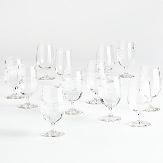 Party of 12 Water Goblets