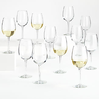 Party of 12 Wine Glasses