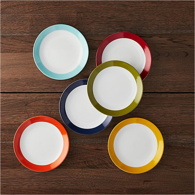 party plates set of 6 reviews crate and barrel