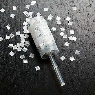 Party Silver Confetti Popper