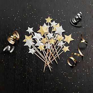 Party Star Picks, Set of 24