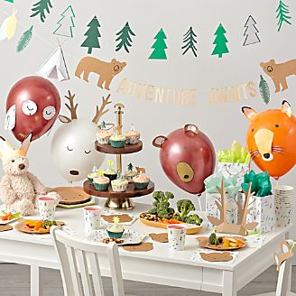 kids party decorations crate and barrel