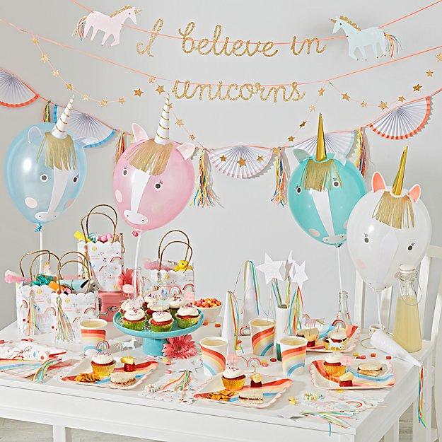 Design Decor Shopping Appstore For: Meri Meri Unicorn Party Collection