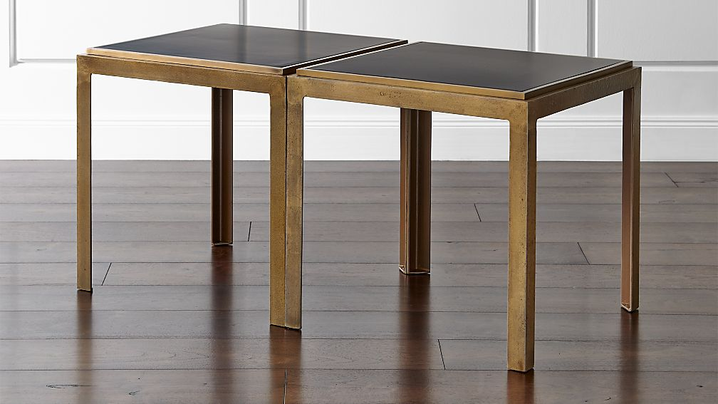 set of 2 pascal bunching tables Bunching Coffee Tables