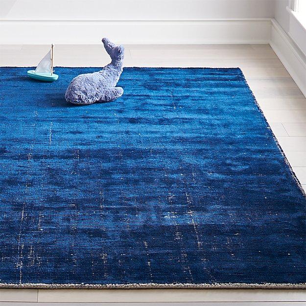 Blue Patina Rug - Image 1 of 9