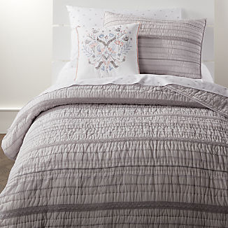 Girls Bedding: Sheets, Duvets & Pillows | Crate and Barrel